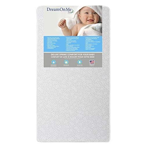 Dream On Me Little Baby 6″ Full Size Firm Foam Crib & Toddler Bed Mattress
