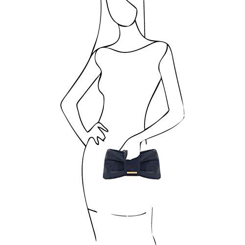 à Violet Leather Bleu Foncé Priscilla Femme Main pour Sac Tuscany Bdtgx0nag