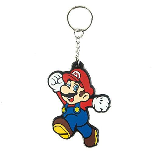 Bioworld Nintendo Super Mario Bros. Rubber Key Chain