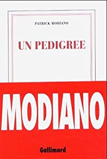 Un pedigree, Modiano, Patrick