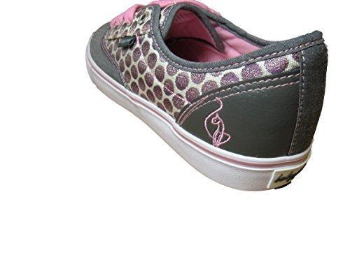 Baby Phat Womans Polka-dot Porter Chambray Slip-on Sneaker (10, (Baby Phat Shoes)