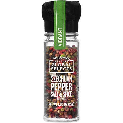 - McCormick Gourmet Global Selects Szechuan Pepper Salt & Spice Blend, 1.05 Ounce