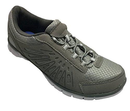 Danskin Now Women's Athletic Walking Shoes, Grey (6 (M) US)