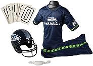 Franklin Sports NFL Seattle Seahawks Deluxe Youth Uniform Set, Medium