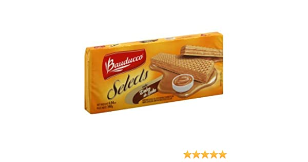 Bauducco Cookie Wafer Dulce De Lec, 4.94 oz: Amazon.com: Grocery & Gourmet Food