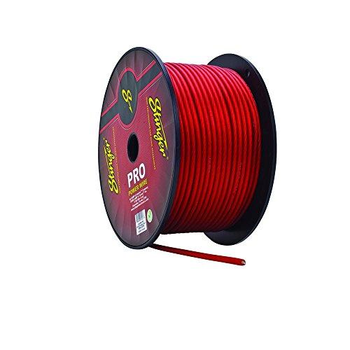 - Stinger SPW14TR Pro Series 4-Gauge Translucent Power Wire