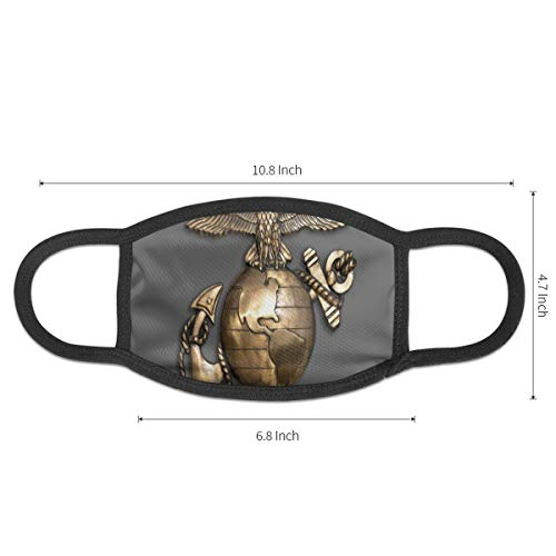 Mouth Mask United States Of America Marine Corp Reusable Dust Mask Anti Pollution Face Mask