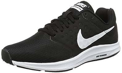 Nike Downshifter 7, Zapatillas de Running para Mujer, Negro (Black / White / Anthracite), 37.5 EU