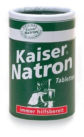 Kaiser Bicarbonato De Sodio Pastillas, 100 Piezas: Amazon.es: Alimentación y bebidas