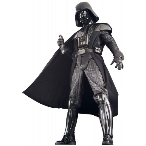 Rubie's Costume Men's Star Wars Collector Supreme Edition Darth Vader Costume, Black, Standard - Codpiece Costumes