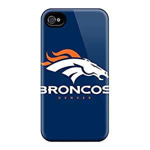 Kql27117riDS Case Cover Protector For Iphone 4/4s Denver Broncos 4 Case