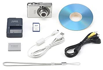 Canon Powershot SD400 5MP Digital Elph Camera with 3x Optical Zoom (OLD  MODEL)
