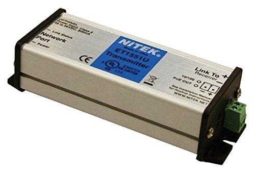 1/x 100BaseT porte Transmitter et1551u Nitek Ethernet Extender fino a 500/m su due filo trasmettitore