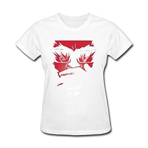 CNTJC Women's Light It Up Major Lazer Featuring Nyla T Shirt XXL (Major Johnson T-shirt)