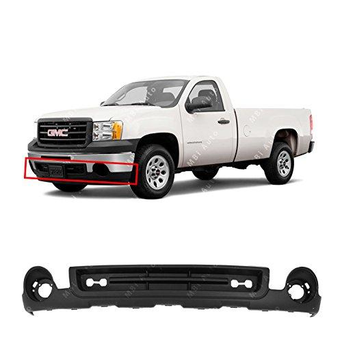 gmc sierra front bumper cover - 5