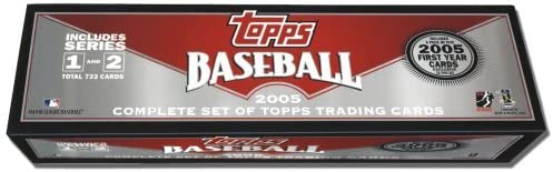 2005 Topps Baseball Card Factory Set