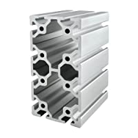 80/20 Inc., 40-8016, 40 Series, 80mm x 160mm T-Slotted Extrusion x 1525mm from 80/20 Inc.