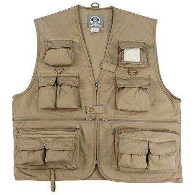 Uncle Milty Travel Vest KHAKI LARGE, Outdoor Stuffs