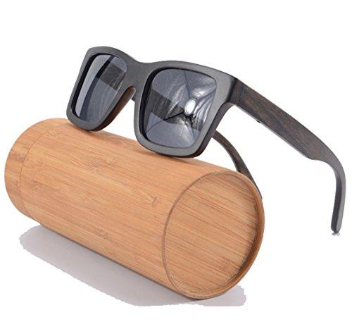 100% Bamboo Wooden Wayfarer - Sunglasses Madera