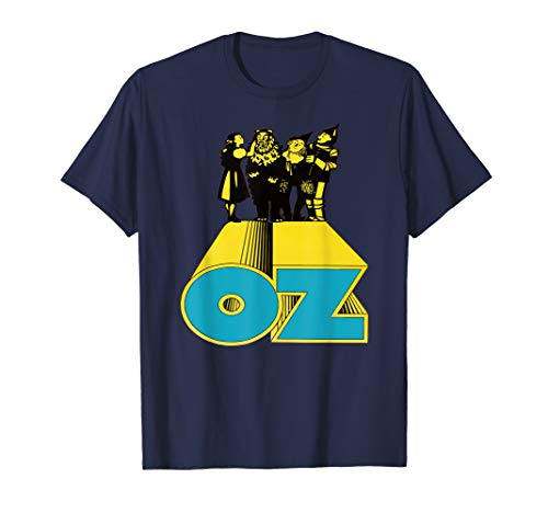 Wizard of Oz Vintage Poster Characters T-Shirt]()