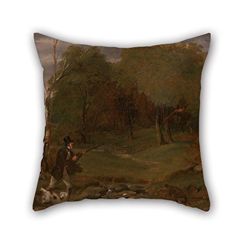 Pheasant Shooting Pillow Covers Slimmingpiggy 18 X 18 Inches both Sides Ornament And Gift To Wife,father,dining Room,monther,seat,relatives 45 By 45 Cm Oil Painting Edward Duncan