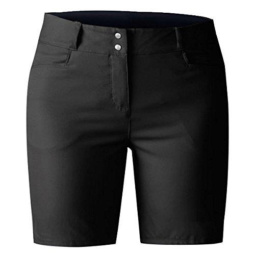 adidas Golf Women's Essentials Lightweight 7-Inch Shorts, Black, 6