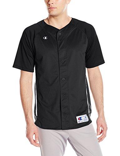 Champion LIFE Men's Prospect Baseball Jersey, Black/White, ()