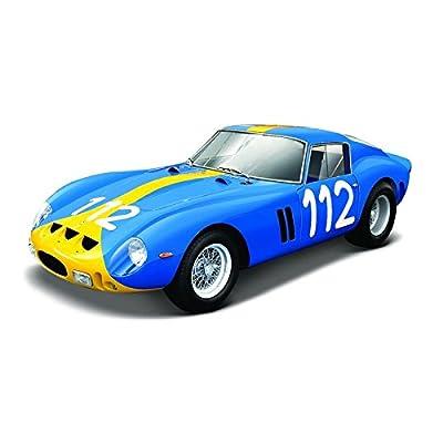 Bburago 1962 Ferrari 250 GTO 1: 24 Scale Die-cast Model, Blue: Toys & Games
