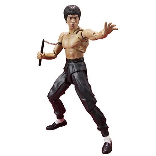 Bandai Bruce Lee Figurine, 4549660018490, 14cm