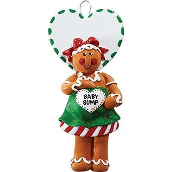 Amazon Com Hallmark Qgo1127 Mom To Bee Pregnancy Ornament