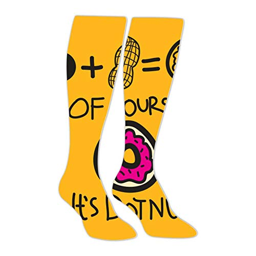 innovative design 76553 07551 of Course It s DotNut Tube Knee High Stockings Athletic Long Socks Sports  for Man Women