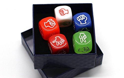 Novelty Dice (5 X Rock Paper Scissors Dice Game Hen Party Novelty)