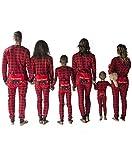 Plaid Bear Cheeks Flapjacks Baby Flapjack Onsie Pajamas by LazyOne | Adult Kid Infant Dog Family Matching Pajamas (6 MO)