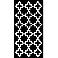 Green Decore Lightweight Outdoor Reversible Plastic Rug (2 ft x 4 ft, Black/White)