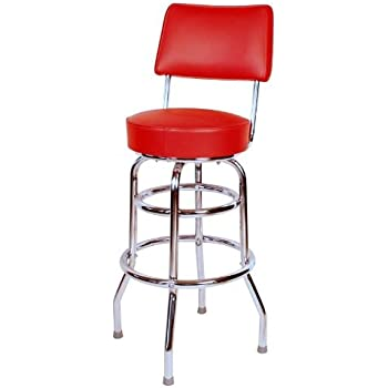 Best Of Red Bar Stool with Back