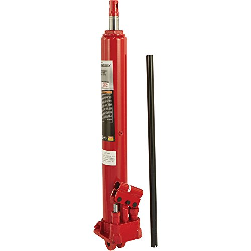 Strongway Hydraulic Long Ram Jack 3 Ton Capacity Double
