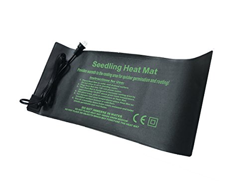 """TopoLite Seedling Heat Mat 10""""x20"""" 20""""x20"""" 20""""x48"""" Seed Starter Warm Hydroponic Heating Pad for Seedling Propagation, Rooting, and Germination (10""""x20"""")"""