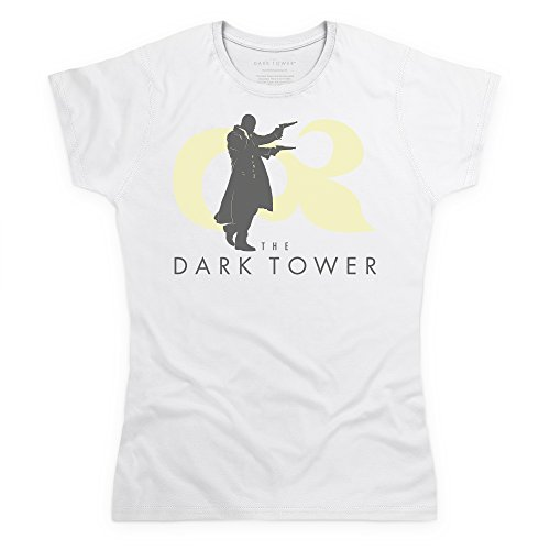 Official The Dark Tower Roland Shoots Camiseta, Para mujer Blanco