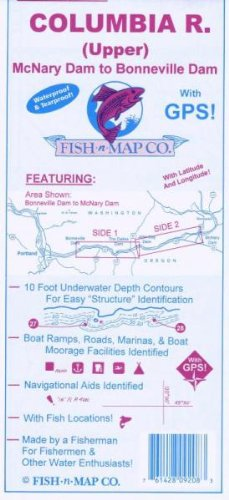- Fish-n-Map Columbia River Upper McNary Dam to Bonneville Dam