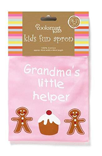Lo Grandmas Little Helper Apron Pink (Helper Apron Little)