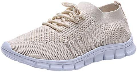 ZPAWDH Homme Femme Air Baskets Chaussures de Sports Outdoor Shock Absorbing Running Fitness L/éger Sneakers