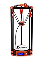FLSUN 3d Printer Delta Kossel Diy Kit with Large 3d Printing Size Updated Nuzzle System Heated Bed Auto Leveling from FLSUN