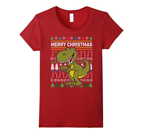 Womens Dinosaur Wildlife Merry