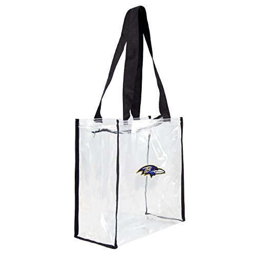 NFL Baltimore Ravens Clear Square Stadium Tote