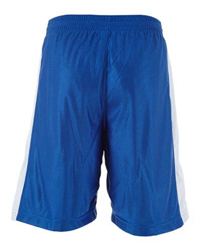 Nike Heren Geperforeerde Elastische Taille Shorts Blauw / Wit