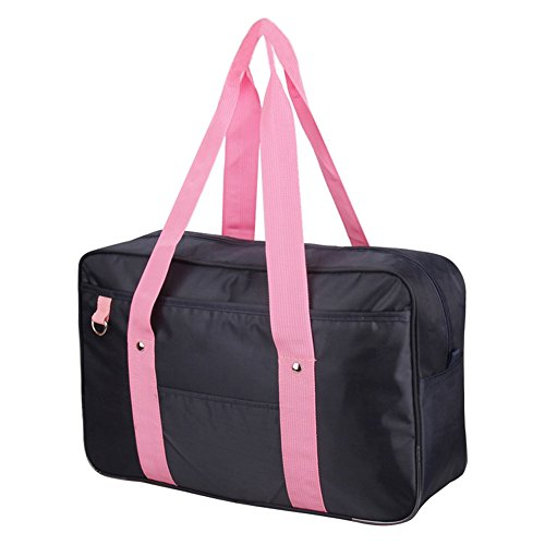 Girls Japanese Cute School Bag Single Shoulder Anime Messenger Bags Backpack Blue&pink by ROLECOS