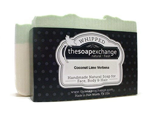 Coconut Lime & Verbena Whipped Bar Soap