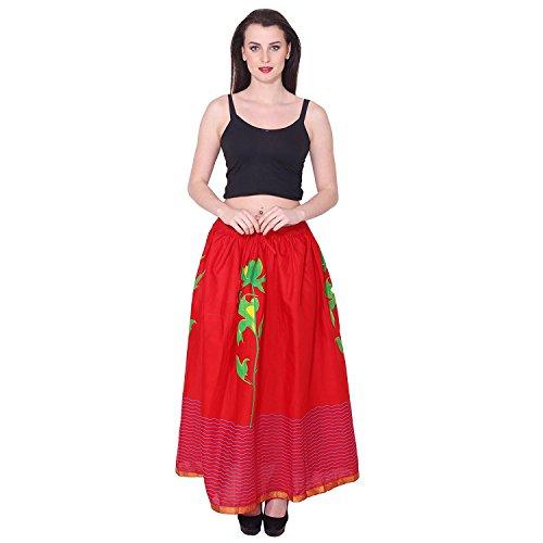Women's Printed Handicrfats Indian Cotton Export Skirt nP8nwBqY
