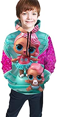 L-O-L. Surprise! Dolls Novelty Boys Hoodie Sweatshirts Fashion for Teens