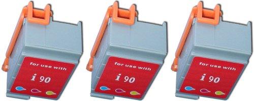 betaInk 3-Pk Compatible CANON BCI-16 Color Printer Ink Cartridges for Pixma IP 90, Pixma IP 90v